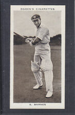 Ogdens - Prominent Cricketers of 1938 - # 36 Sidney Barnes - New South Wales