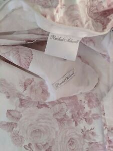 Rachel Ashwell Shabby Chic  Couture Duvet Cover Shadow Rose  70X92 Twin Darling