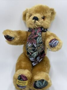 Merrythought CD10ZD Fruit Cup Limited Edition Mohair Bear Oliver Holmes 419/500