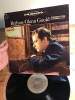 Brahms Glenn Gould 10 Intermezzi For Piano Columbia Vinyl Record