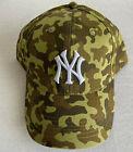 Внешний вид - CAMO HAT CAP BUDWEISER NEW YORK YANKEES 2021 9/17/21 YANKEE STADIUM SGA BOX NY