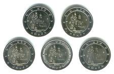 Alemania 2012 - 5 X 2 Euros Conmemorativos-Bayern (unc)