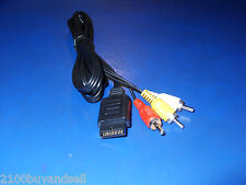 New AV Video RCA Cable Sony PS2 PS3