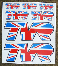 TVR style UNION JACK stickers decals Chimera Cerbera T350 Griffith Tamora
