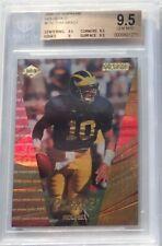2000 Tom Brady Rookie Rare U of M Jersey # ( 10/20 ) HoloGold BGS 9.5 + POP 1
