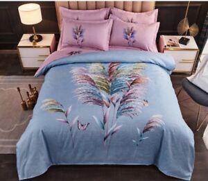 New feather 4pcs bedding set Duvet/quilt pillowcase cover queen king set