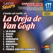 Karaoke Latin Stars 177 La Oreja De Van Gogh