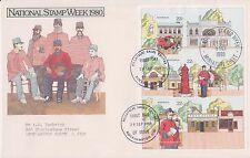 (K9-24) 1980 Au Fdc M/S national stamp week (B)