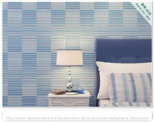 3D Non-woven Stripes WallPaper Roll