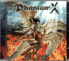 "PHANTOM-X ""This Is War"" Aska Omen Sanctuary Jag Panzer US POWER METAL"