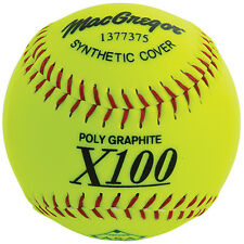 "MacGregor® X52RE 12"" ASA Slow-Pitch Softball - Synthetic (1 DOZEN)"