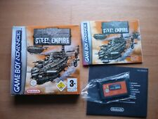 Steel Empire Gameboy advance PAL  Complete