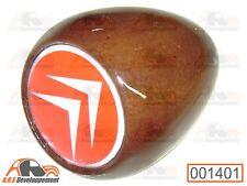 Pommeau levier vitesse BOIS pastille rouge  Citroen 2CV DYANE MEHARI  -001401-