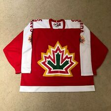 Vintage Rare 1977 Team Canada Nike World Championship Retro Hockey Jersey Red XL