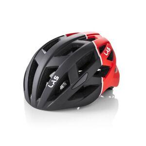 Las Enigma Bicycle Helmet Matt Black/Red | L/XL 58-61cm
