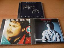 3 CD Set Wolfgang Petry: Rauhe Wege + Wo ist das Problem + Das Beste von 84 - 87