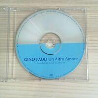 Gino Paoli - Un Altro Amore - CD Single PROMO - 2002 La Grande Lontra RARO!
