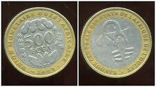 ETATS DE L'AFRIQUE DE L'OUEST  500 francs 2004