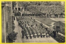 cpa IGNY (Essonne) Institution Saint Nicolas LA FANFARE Musiciens Cuivre Tambour