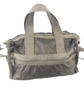 LeSportsac Womens Bag Duffle Bag Weekender Gym Tote Convertible Strap Gray