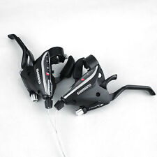 Bicycle Bike Cycling 24 Speed Left Right Brake Shifter Combo Set Black