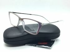 NEW Ray Ban RB 7022 5498 54mm Iridescent Violet Gunmetal Eyeglasses