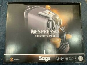 SAGE Nespresso Creatista Pro - Stainless Steel