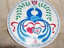 "CONESTOGA CRAFTS Hex Sign, 15"" Love Birds"