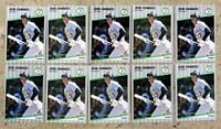 Jose Canseco 1989 Fleer #5 10ct Card Lot