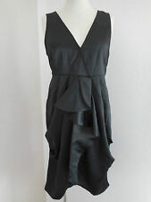 Vero Moda Satin Kleid schwarz Gr. 38 Neu 34,95€