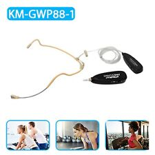 WIRELESS 2.4G WATER PROOF DOUBLE EAR HOOK MICROPHONE TRANSMITTER RECEIVER SYSTEM