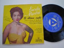 SARITA MONTIEL El Relicario SPAIN EP VINYL 1962 DISCO DE VINILO