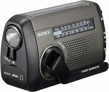 SONY Portable Radio ICF-B99 Manual, Solar, USB Chargeable, LED Light