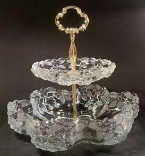 Walther Glass Bon Bon/Cake Stand Vintage