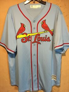 "St. Louis Cardinals MLB Majestic ""Free G Down #9"" Jersey in size Large NWOT"