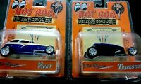 2 HOT ROD UNDERGROUND ADULT DIE CAST COLLECTIBLE CARS 🚘 Vicky & Trackster