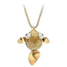 NIB SWAROVSKI Lychee fish long necklace and pendant 1110471