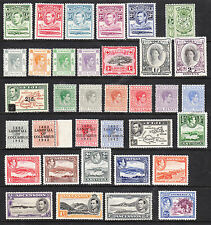 George VI Era (1936-1952) Colonial Stamp Collections