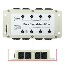 1 Way in 8 Channels Output Multiplexer DMX512 LED Controller Signal Amplifier