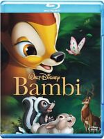 blu ray CARTONE ANIMATO Bambi WALT DISNEY