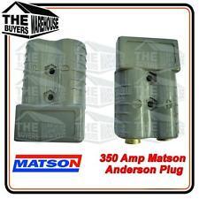 2 x GENUINE MATSON Anderson plug Connectors MA2370 350 amp Bulk