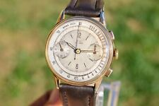 Rare 1930s Original Pilot/Military Vintage BUT Chronograph Serviced Valjoux 22