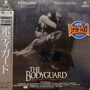 LASERDISC JAPAN + OBI - THE BODYGUARD - NTSC - WHITNEY HOUSTON JAPON - DOUBLE LD