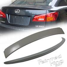 FOR Lexus IS250/IS350 OEM TYPE REAR ROOF +TRUNK SPOILER WING SEDAN 06-12 ABS