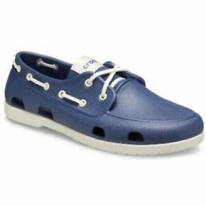 Crocs Size 8 Blue Boat New Mens Shoes