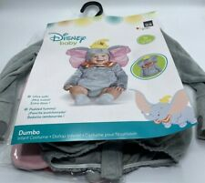 Infant Toddler Size 12-18 Months Disney Baby Dumbo Costume Jumpsuit Headpiece