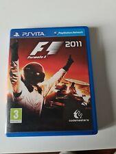 Formula 1 ( F1 )  2011 JEU Ps Vita RARE
