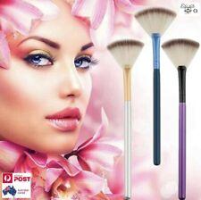 Makeup Brush x 1Pc Slim Fan Shape Blending Highlight Contour Face Powder