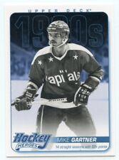 12/13 UPPER DECK HOCKEY HEROES 1980s #HH46 MIKE GARTNER CAPITALS *42475