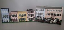 Shelia's Collectibles 2001 Wood Plaques East Bay South of Broad Charleston Sc